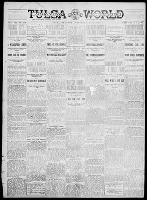 Primary view of object titled 'Tulsa Daily World (Tulsa, Okla.), Vol. 7, No. 221, Ed. 1 Saturday, June 1, 1912'.