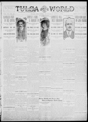 Primary view of object titled 'Tulsa Daily World (Tulsa, Okla.), Vol. 7, No. 224, Ed. 1 Wednesday, June 5, 1912'.