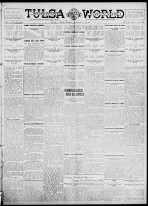 Primary view of object titled 'Tulsa Daily World (Tulsa, Okla.), Vol. 7, No. 226, Ed. 1 Friday, June 7, 1912'.