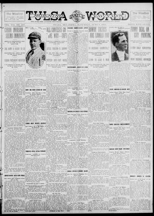 Primary view of object titled 'Tulsa Daily World (Tulsa, Okla.), Vol. 7, No. 227, Ed. 1 Saturday, June 8, 1912'.