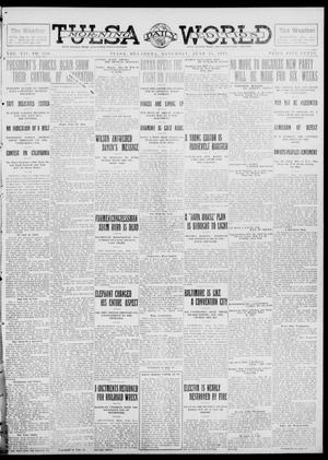 Primary view of object titled 'Tulsa Daily World (Tulsa, Okla.), Vol. 7, No. 239, Ed. 1 Saturday, June 22, 1912'.