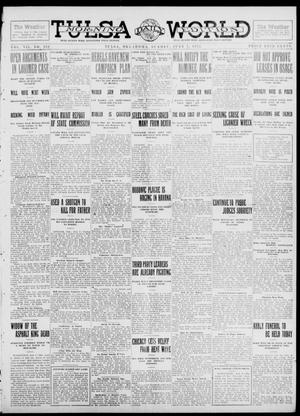 Primary view of object titled 'Tulsa Daily World (Tulsa, Okla.), Vol. 7, No. 252, Ed. 1 Sunday, July 7, 1912'.