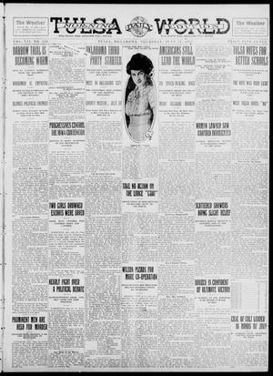 Primary view of object titled 'Tulsa Daily World (Tulsa, Okla.), Vol. 7, No. 258, Ed. 1 Thursday, July 11, 1912'.