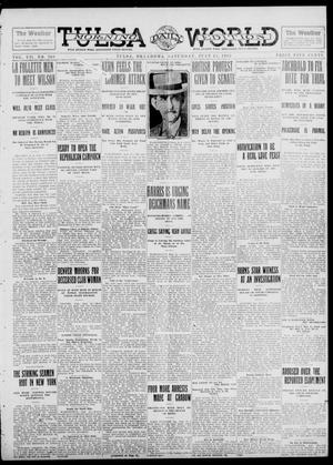 Primary view of object titled 'Tulsa Daily World (Tulsa, Okla.), Vol. 7, No. 260, Ed. 1 Saturday, July 13, 1912'.