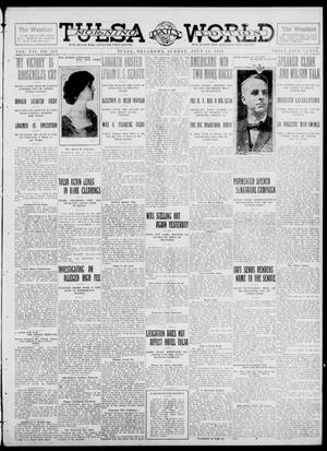 Primary view of object titled 'Tulsa Daily World (Tulsa, Okla.), Vol. 7, No. 261, Ed. 1 Sunday, July 14, 1912'.