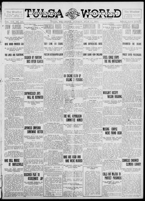 Primary view of object titled 'Tulsa Daily World (Tulsa, Okla.), Vol. 7, No. 267, Ed. 1 Sunday, July 21, 1912'.