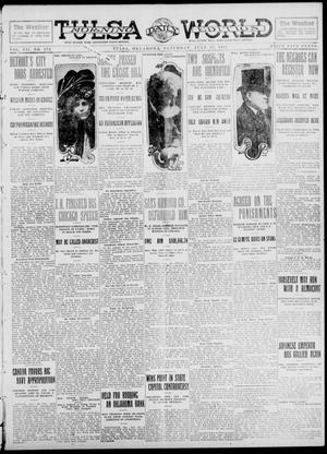 Primary view of object titled 'Tulsa Daily World (Tulsa, Okla.), Vol. 7, No. 272, Ed. 1 Saturday, July 27, 1912'.