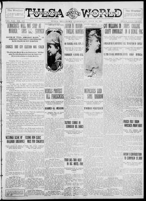 Primary view of object titled 'Tulsa Daily World (Tulsa, Okla.), Vol. 7, No. 275, Ed. 1 Wednesday, July 31, 1912'.