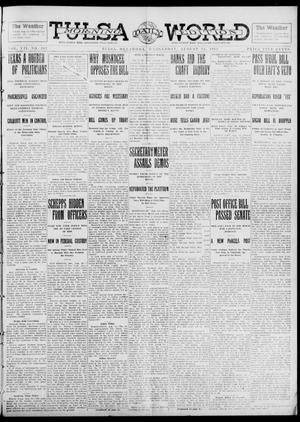 Primary view of object titled 'Tulsa Daily World (Tulsa, Okla.), Vol. 7, No. 287, Ed. 1 Wednesday, August 14, 1912'.