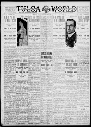 Primary view of object titled 'Tulsa Daily World (Tulsa, Okla.), Vol. 7, No. 290, Ed. 1 Saturday, August 17, 1912'.