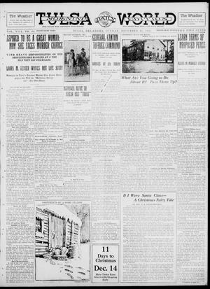 Primary view of object titled 'Tulsa Daily World (Tulsa, Okla.), Vol. 8, No. 80, Ed. 1 Sunday, December 15, 1912'.