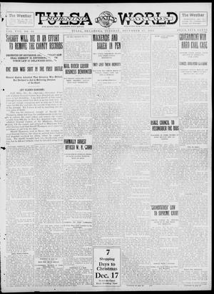 Primary view of object titled 'Tulsa Daily World (Tulsa, Okla.), Vol. 8, No. 80, Ed. 1 Tuesday, December 17, 1912'.