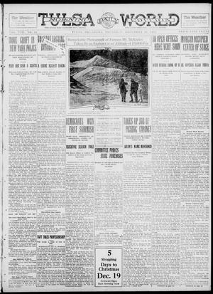 Primary view of object titled 'Tulsa Daily World (Tulsa, Okla.), Vol. 8, No. 82, Ed. 1 Thursday, December 19, 1912'.