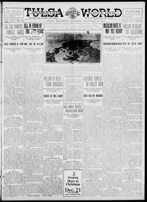 Primary view of object titled 'Tulsa Daily World (Tulsa, Okla.), Vol. 8, No. 84, Ed. 1 Saturday, December 21, 1912'.