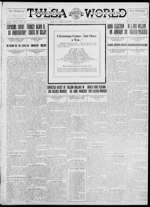 Primary view of object titled 'Tulsa Daily World (Tulsa, Okla.), Vol. 8, No. 85, Ed. 1 Sunday, December 22, 1912'.
