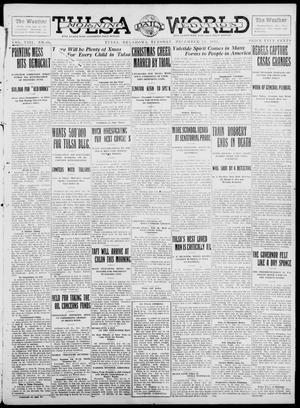 Primary view of object titled 'Tulsa Daily World (Tulsa, Okla.), Vol. 8, No. 86, Ed. 1 Tuesday, December 24, 1912'.