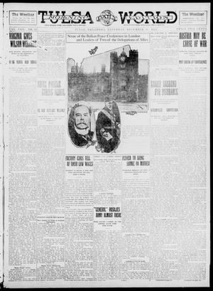 Primary view of object titled 'Tulsa Daily World (Tulsa, Okla.), Vol. 8, No. 90, Ed. 1 Saturday, December 28, 1912'.