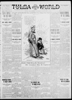 Primary view of object titled 'Tulsa Daily World (Tulsa, Okla.), Vol. 8, No. 96, Ed. 1 Saturday, January 4, 1913'.