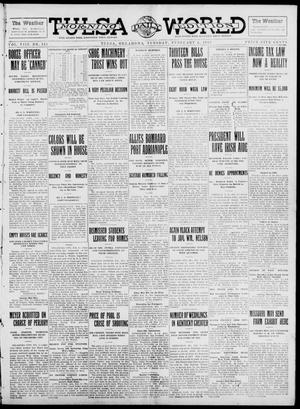 Primary view of object titled 'Tulsa Daily World (Tulsa, Okla.), Vol. 8, No. 121, Ed. 1 Tuesday, February 4, 1913'.