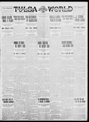 Primary view of object titled 'Tulsa Daily World (Tulsa, Okla.), Vol. 8, No. 122, Ed. 1 Wednesday, February 5, 1913'.