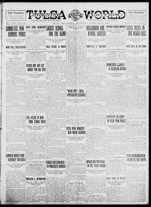 Primary view of object titled 'Tulsa Daily World (Tulsa, Okla.), Vol. 8, No. 123, Ed. 1 Thursday, February 6, 1913'.