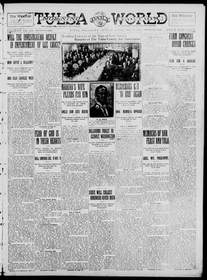 Primary view of object titled 'Tulsa Daily World (Tulsa, Okla.), Vol. 8, No. 138, Ed. 1 Sunday, February 23, 1913'.