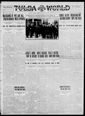 Primary view of object titled 'Tulsa Daily World (Tulsa, Okla.), Vol. 8, No. 140, Ed. 1 Wednesday, February 26, 1913'.