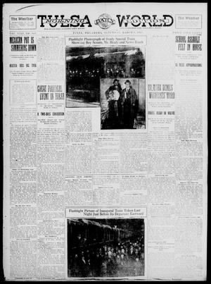 Primary view of object titled 'Tulsa Daily World (Tulsa, Okla.), Vol. 8, No. 143, Ed. 1 Saturday, March 1, 1913'.