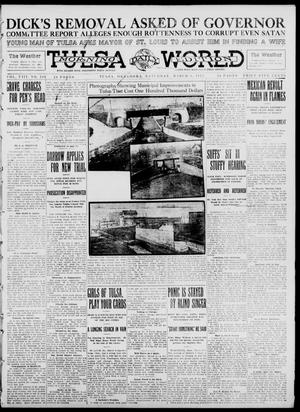 Primary view of object titled 'Tulsa Daily World (Tulsa, Okla.), Vol. 8, No. 149, Ed. 1 Sunday, March 9, 1913'.