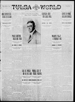 Primary view of object titled 'Tulsa Daily World (Tulsa, Okla.), Vol. 8, No. 152, Ed. 1 Wednesday, March 12, 1913'.