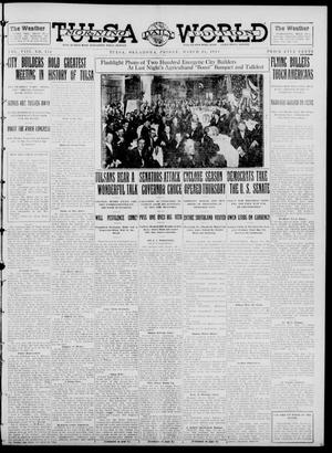 Primary view of object titled 'Tulsa Daily World (Tulsa, Okla.), Vol. 8, No. 154, Ed. 1 Friday, March 14, 1913'.