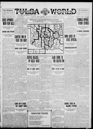 Primary view of object titled 'Tulsa Daily World (Tulsa, Okla.), Vol. 8, No. 162, Ed. 1 Sunday, March 23, 1913'.