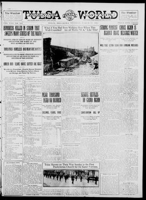 Primary view of object titled 'Tulsa Daily World (Tulsa, Okla.), Vol. 8, No. 163, Ed. 1 Tuesday, March 25, 1913'.