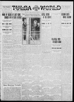 Primary view of object titled 'Tulsa Daily World (Tulsa, Okla.), Vol. 8, No. 166, Ed. 1 Friday, March 28, 1913'.