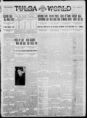 Primary view of object titled 'Tulsa Daily World (Tulsa, Okla.), Vol. 8, No. 170, Ed. 1 Wednesday, April 2, 1913'.