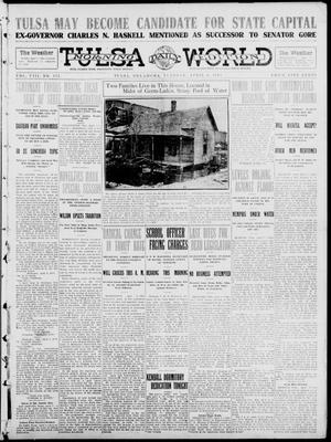Primary view of object titled 'Tulsa Daily World (Tulsa, Okla.), Vol. 8, No. 175, Ed. 1 Tuesday, April 8, 1913'.