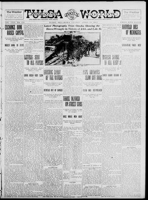Primary view of object titled 'Tulsa Daily World (Tulsa, Okla.), Vol. 8, No. 178, Ed. 1 Friday, April 11, 1913'.