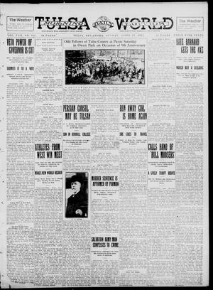 Primary view of object titled 'Tulsa Daily World (Tulsa, Okla.), Vol. 8, No. 192, Ed. 1 Sunday, April 27, 1913'.