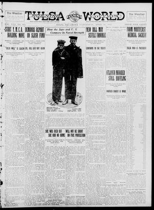 Primary view of object titled 'Tulsa Daily World (Tulsa, Okla.), Vol. 8, No. 194, Ed. 1 Wednesday, April 30, 1913'.