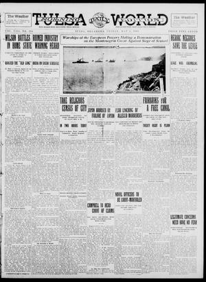 Primary view of object titled 'Tulsa Daily World (Tulsa, Okla.), Vol. 8, No. 196, Ed. 1 Friday, May 2, 1913'.