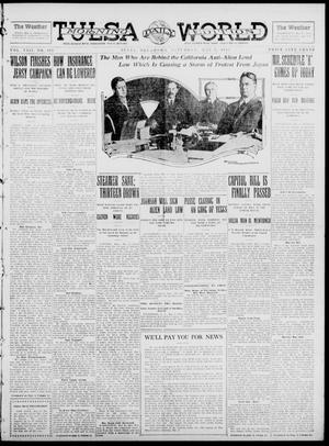 Primary view of object titled 'Tulsa Daily World (Tulsa, Okla.), Vol. 8, No. 197, Ed. 1 Saturday, May 3, 1913'.