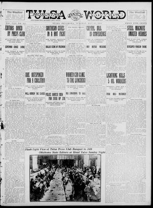 Primary view of object titled 'Tulsa Daily World (Tulsa, Okla.), Vol. 8, No. 205, Ed. 1 Tuesday, May 13, 1913'.