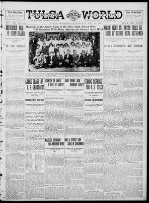 Primary view of object titled 'Tulsa Daily World (Tulsa, Okla.), Vol. 8, No. 206, Ed. 1 Wednesday, May 14, 1913'.