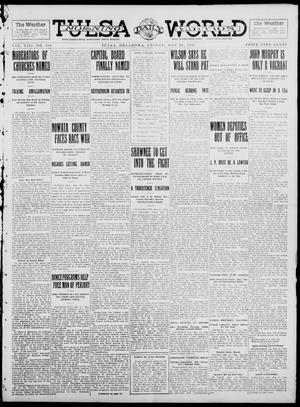 Primary view of object titled 'Tulsa Daily World (Tulsa, Okla.), Vol. 8, No. 208, Ed. 1 Friday, May 16, 1913'.