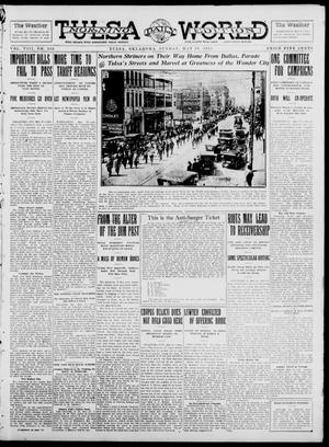 Primary view of object titled 'Tulsa Daily World (Tulsa, Okla.), Vol. 8, No. 210, Ed. 1 Sunday, May 18, 1913'.