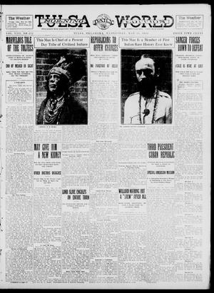 Primary view of object titled 'Tulsa Daily World (Tulsa, Okla.), Vol. 8, No. 212, Ed. 1 Wednesday, May 21, 1913'.
