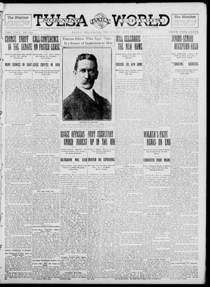 Primary view of object titled 'Tulsa Daily World (Tulsa, Okla.), Vol. 8, No. 214, Ed. 1 Thursday, May 22, 1913'.