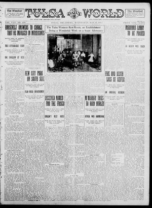 Primary view of object titled 'Tulsa Daily World (Tulsa, Okla.), Vol. 8, No. 218, Ed. 1 Wednesday, May 28, 1913'.
