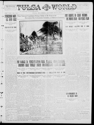 Primary view of object titled 'Tulsa Daily World (Tulsa, Okla.), Vol. 8, No. 221, Ed. 1 Saturday, May 31, 1913'.