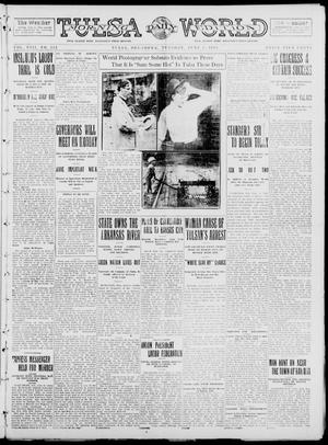 Primary view of object titled 'Tulsa Daily World (Tulsa, Okla.), Vol. 8, No. 223, Ed. 1 Tuesday, June 3, 1913'.